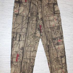 Chico's Abstract Print Pants